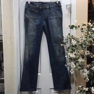 😎Women's Diesel Industry Hush Jeans Size 30 x 33
